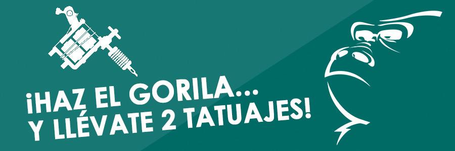 Campaign: Win Gorilla Tattoo